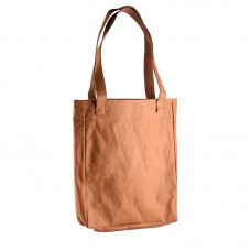 Vintage washable kraft paper Shoulder Bag