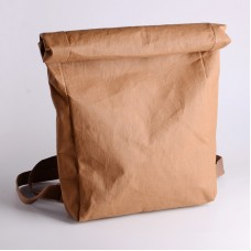 Vintage washable kraft paper Backpack